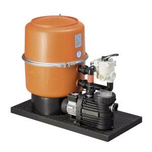 Pool Sandfilteranlage -DWS- mit Speck-Pumpen (230 Volt) bis 14 m³/h DWS 80 - Badu 90