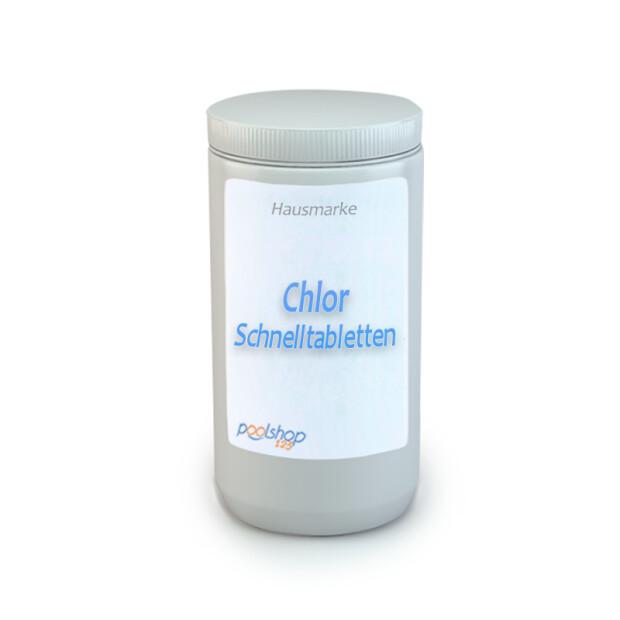 Chlor 56% Schnelltabletten 20g - 5 kg