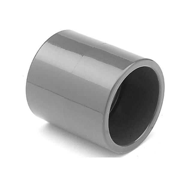 Klebemuffe PVC, allseitig Klebemuffen für Rohr 50mm