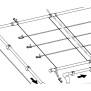Polyesterband div. Längen zur Befestigung Speck- und Solardurabsorber 0,80 m lang