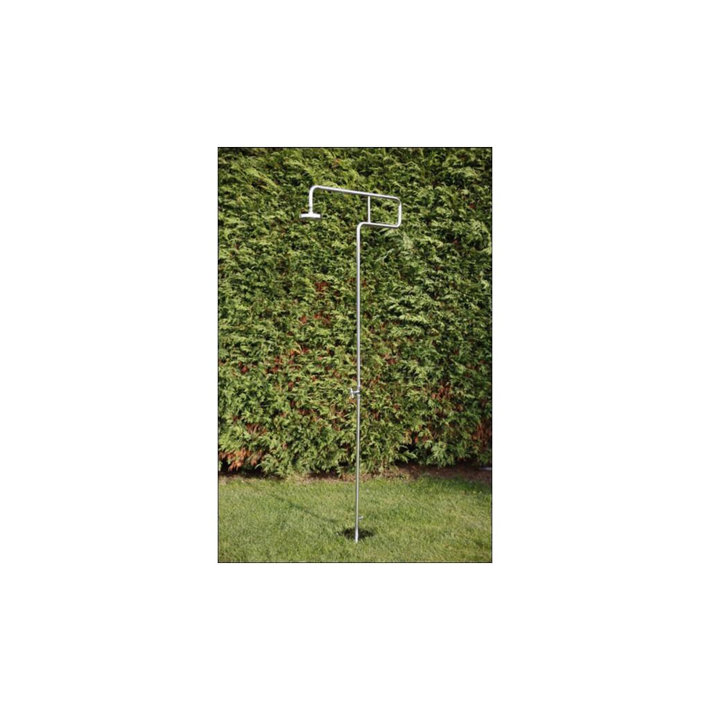gartendusche trombone aus edelstahl v2a. Black Bedroom Furniture Sets. Home Design Ideas