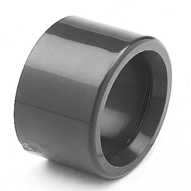 Reduzierung PVC - kurz - allseitig Klebemuffen 50 - 40 mm