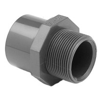 "Übergangsmuffennippel PVC - Klebemuffe x Aussengewinde Rohr 50 mm x 1 1/2"" AG"