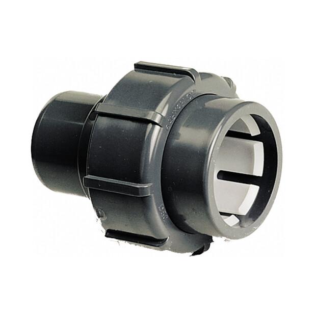 Flex-Fit PVC-U Übergangsverschraubung Klemm/ Klebestutzen 50 x 50 mm