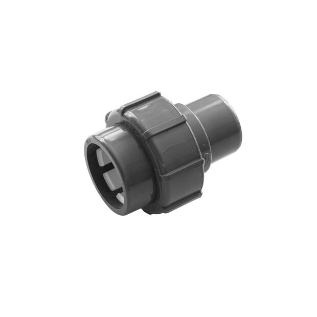 Flex-Fit PVC-U Übergangsverschraubung Klemm/ Klebemuffe 50 x 50 mm