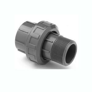 Verschraubung PVC - Klebemuffe x Aussengewinde Rohr 50 mm...