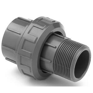 Verschraubung PVC - Klebemuffe x Aussengewinde Rohr 63 mm...