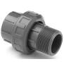 """Verschraubung PVC - Klebemuffe x Aussengewinde Rohr 63 mm I x 2"""" AG"""