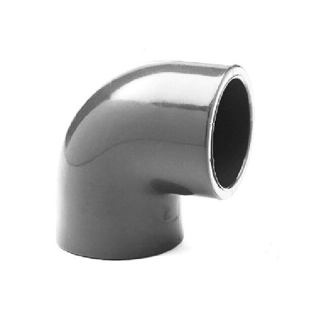 """Winkel PVC 90° Klebemuffe/ Rohrinnengewinde Rohr 50 mm x 1 1/2"""""""