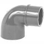 Reduzierwinkel PVC 90° 2xKlebemuffe, 1 Stutzen Rohr 63/50 x 50 mm