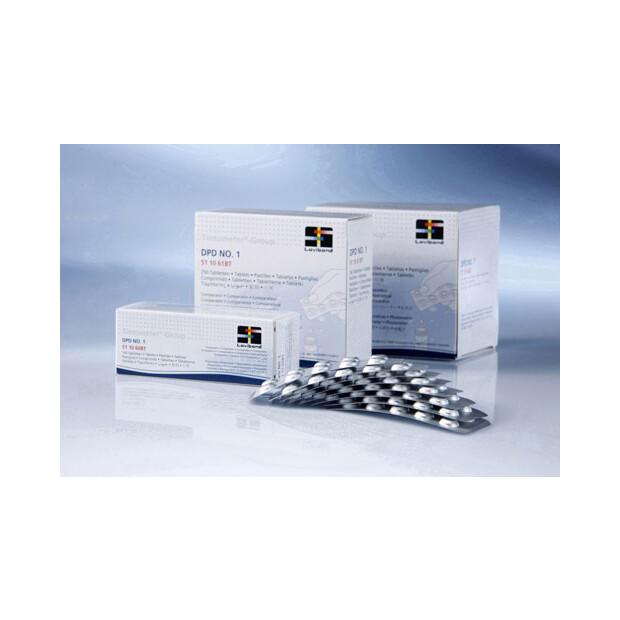 Photometer CheckitDirect - Ersatztabletten DPD No.1 - 10 x10 St.