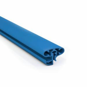 Pool Kombi-Handlauf RUND blau  360 cm