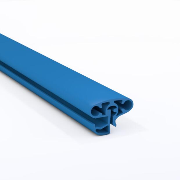 Schwimmbecken Kombi-Handlauf Oval blau 623x360 cm