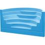 Treppenanlage Acryl Roman Transat 5 stufig B 300cm, französisch blau