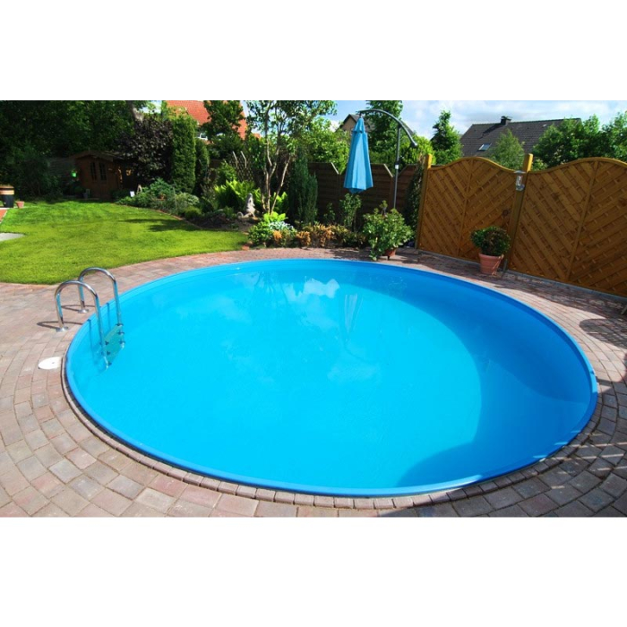 Pool Rundbecken-Set - frei konfigurierbar 120 cm 450 cm...
